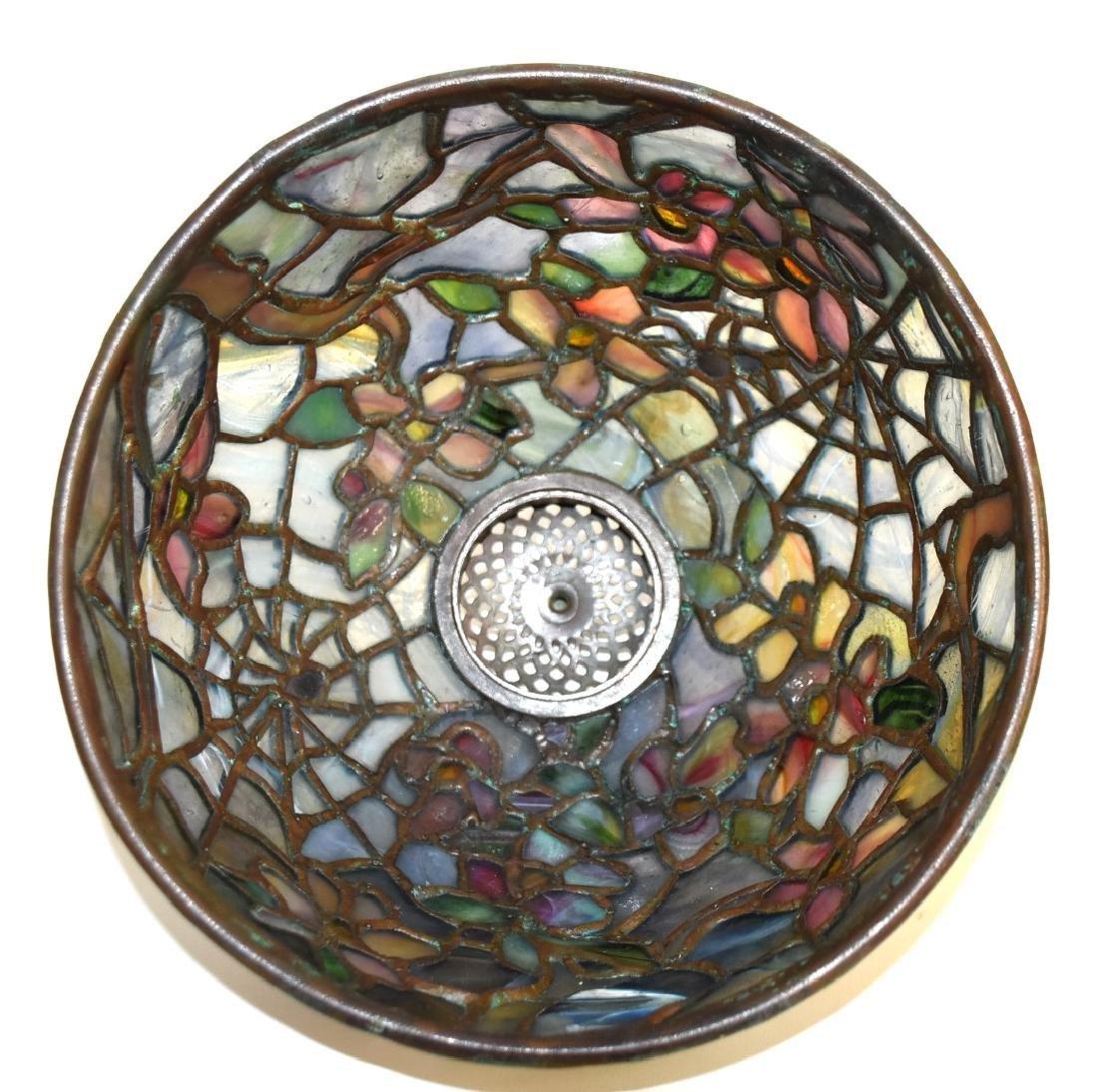 American Leaded Miniature Cobweb Lamp - 7