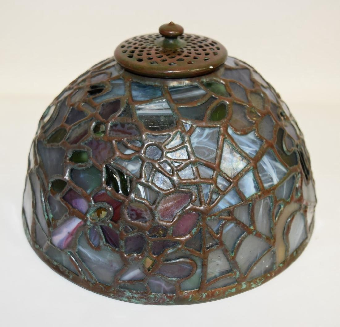 American Leaded Miniature Cobweb Lamp - 8
