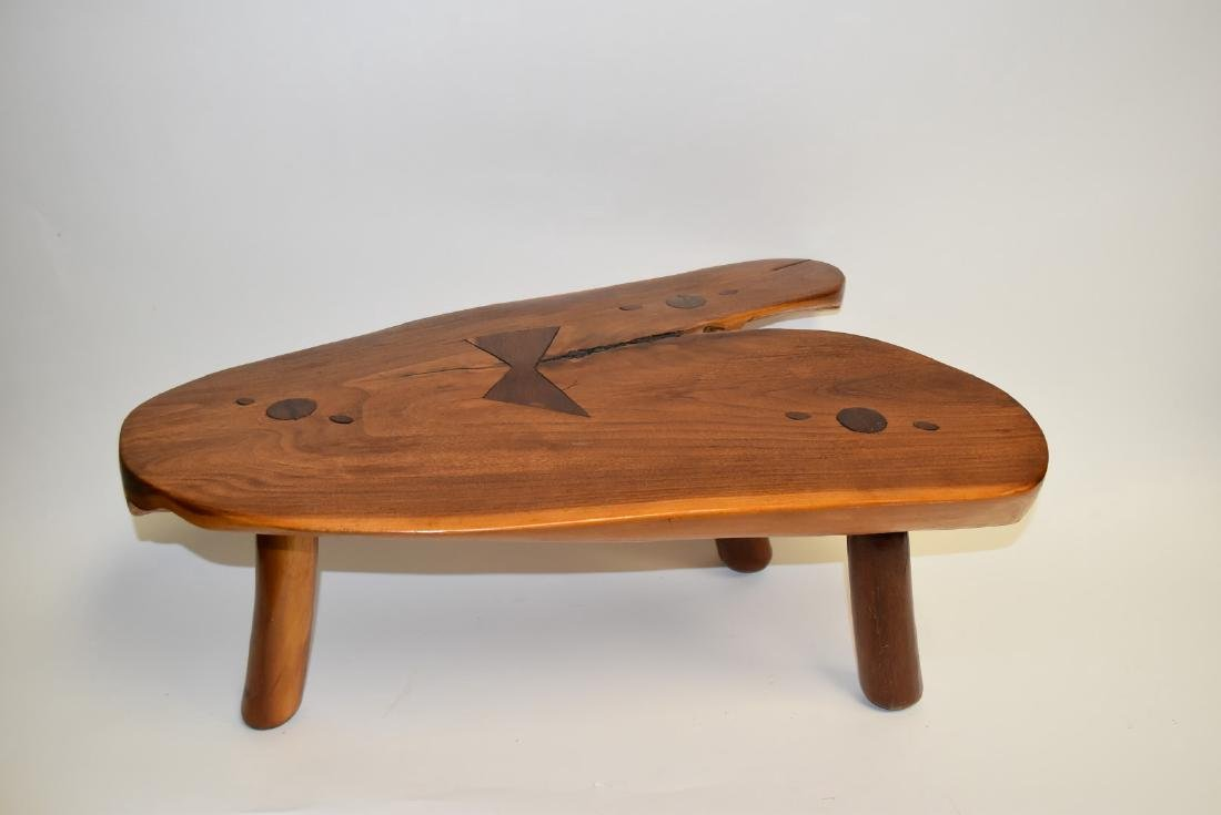 George Nakashima(after); Modernist Low Wood Table