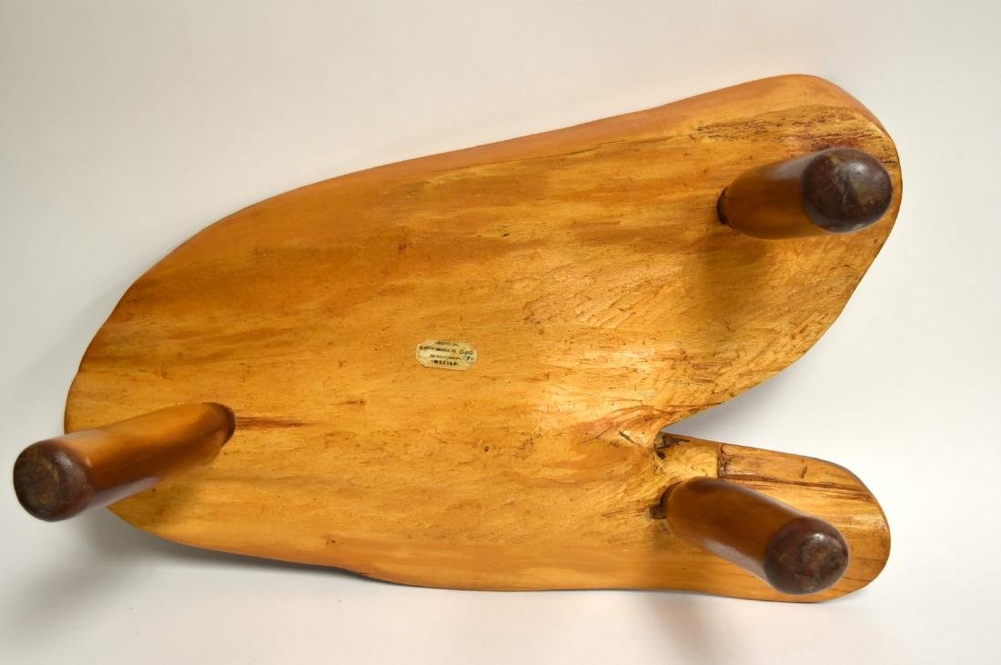 George Nakashima(after); Modernist Low Wood Table - 5