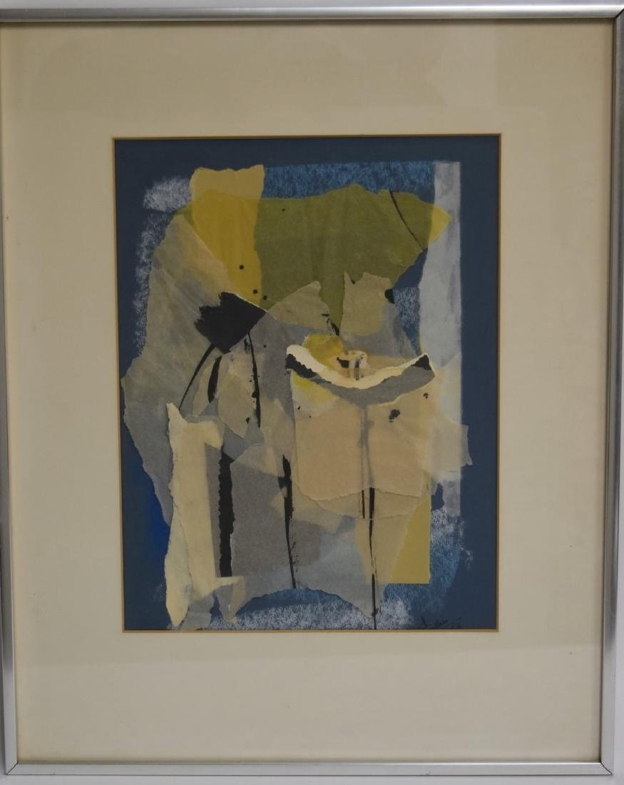 Collier; 20thC. Modernist Collage Signed - 2