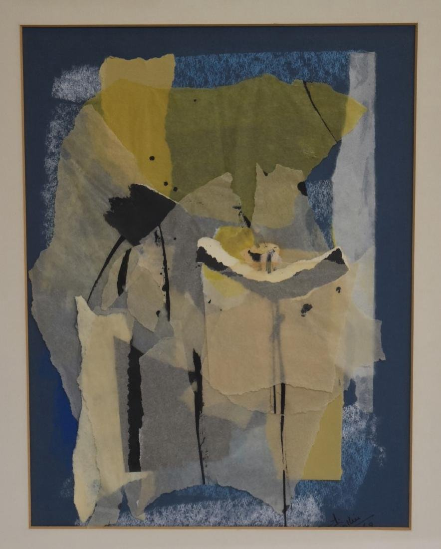 Collier; 20thC. Modernist Collage Signed - 3