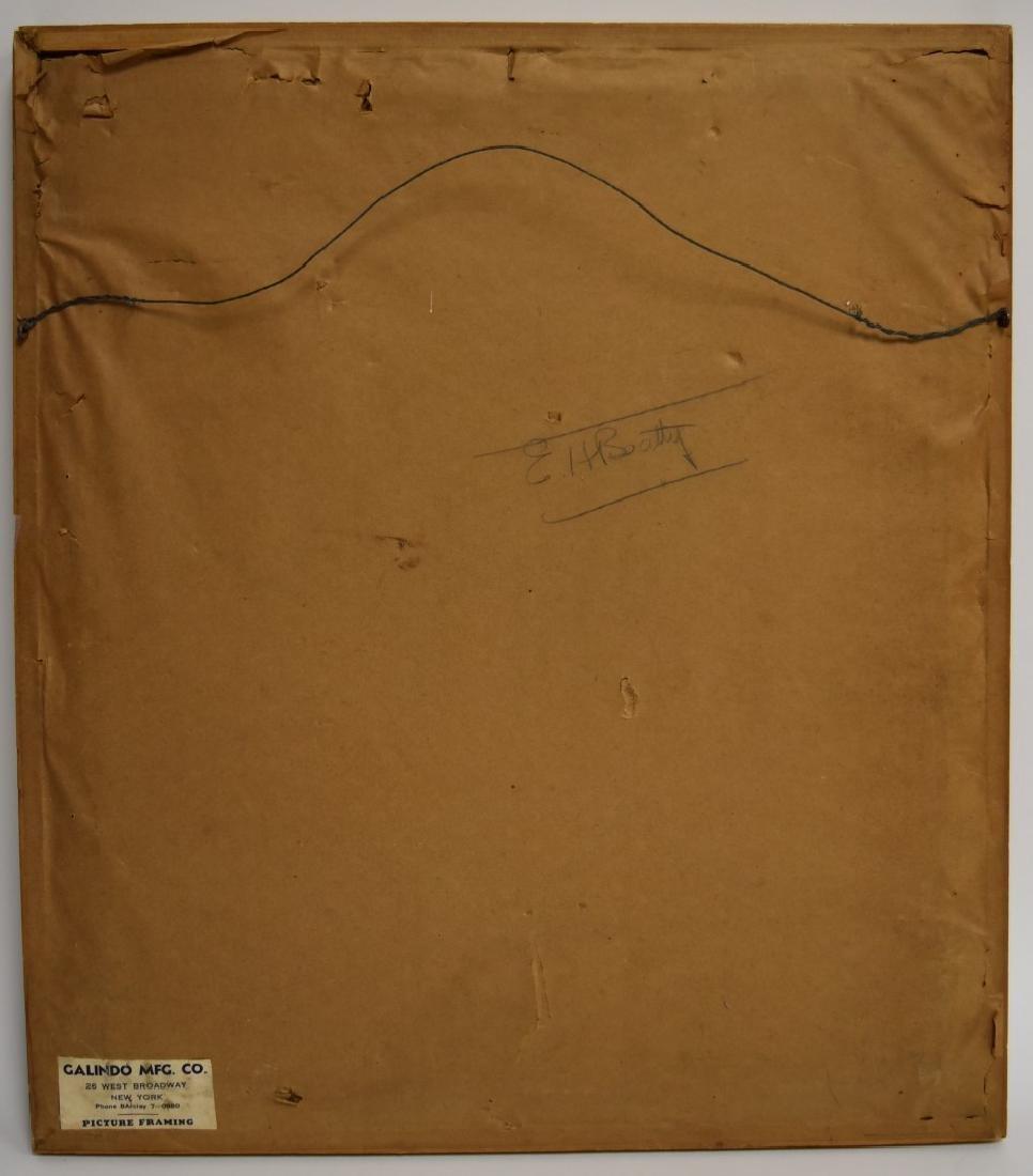 Witold Gordon; 20thC. Gouache Illustration Signed - 5