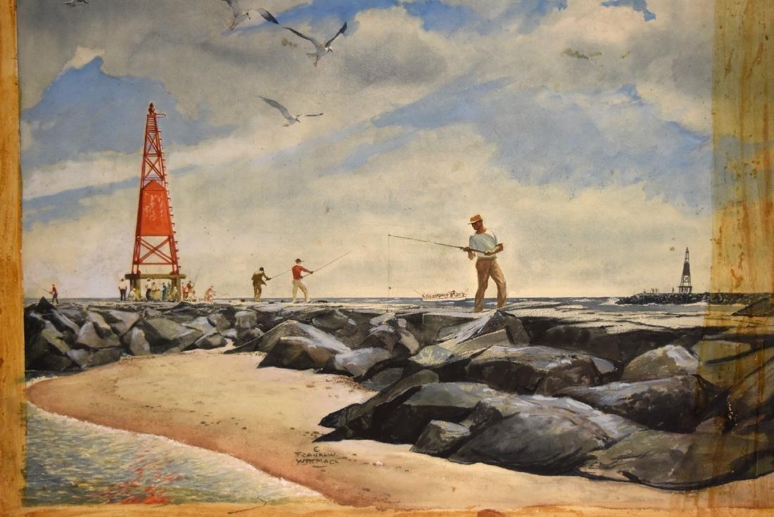 Edgar Franklin Wittmack; 20thC. Watercolor Signed - 3