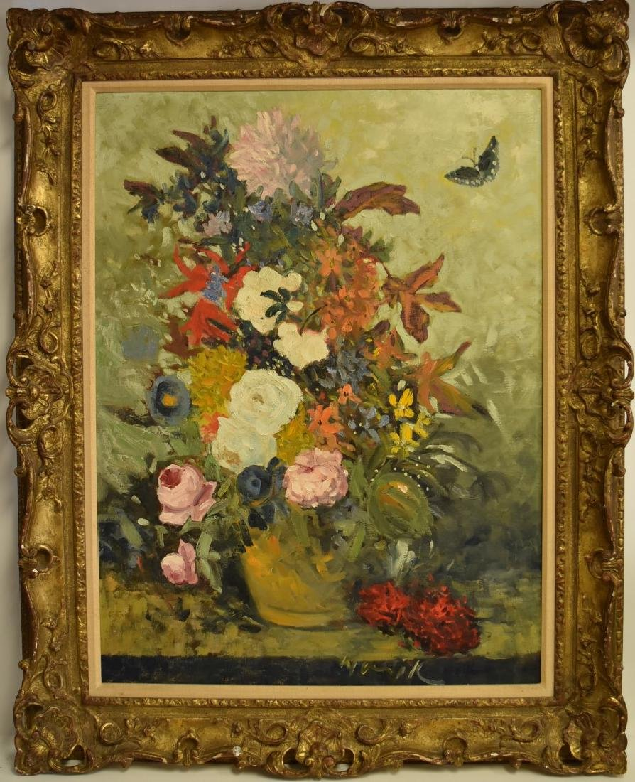 Warik Wheatley; 20thC. American Oil Still Life Signed - 2