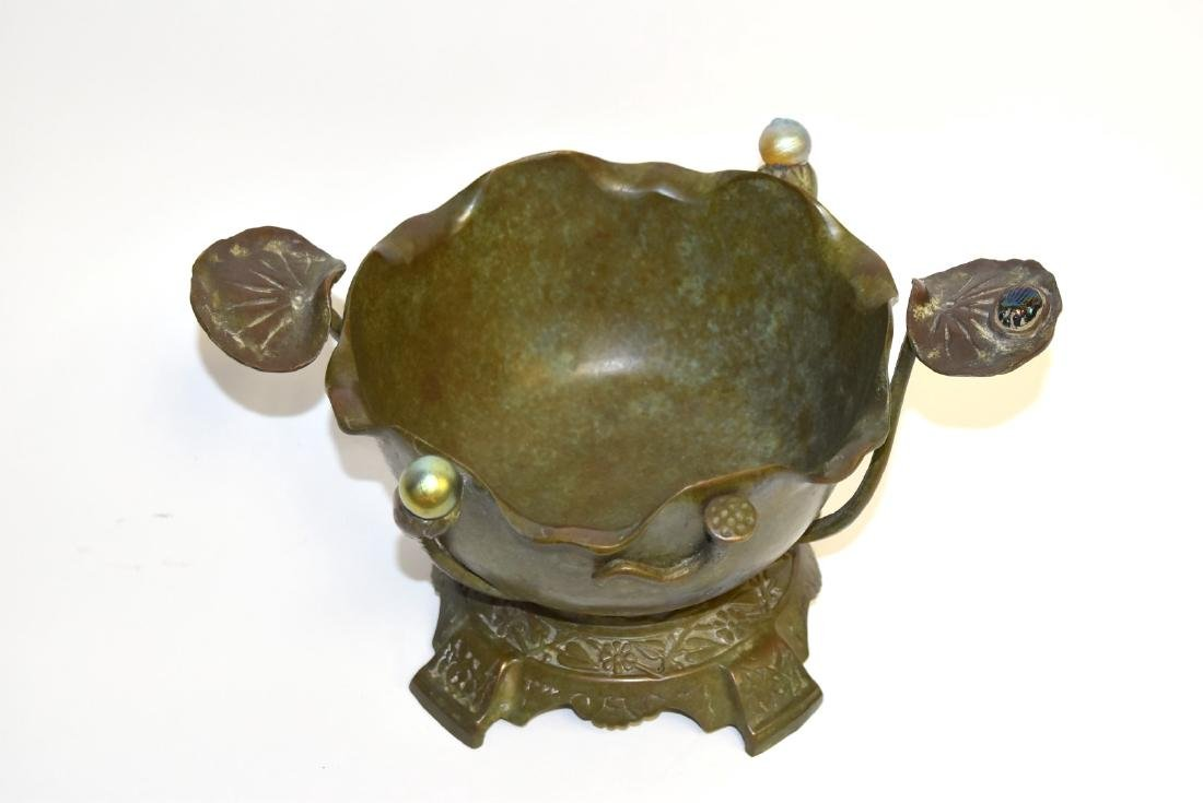 Tiffany & Co.(after); Bronze Bowl - 2