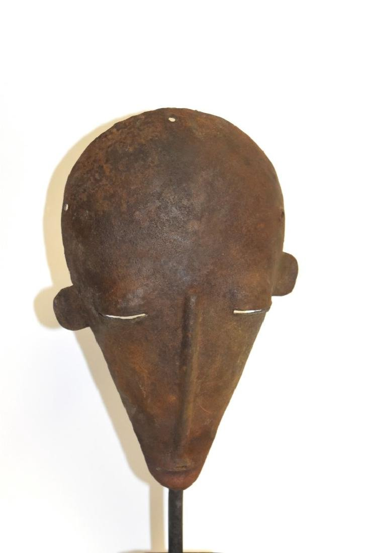Early African Iron Mask - 2
