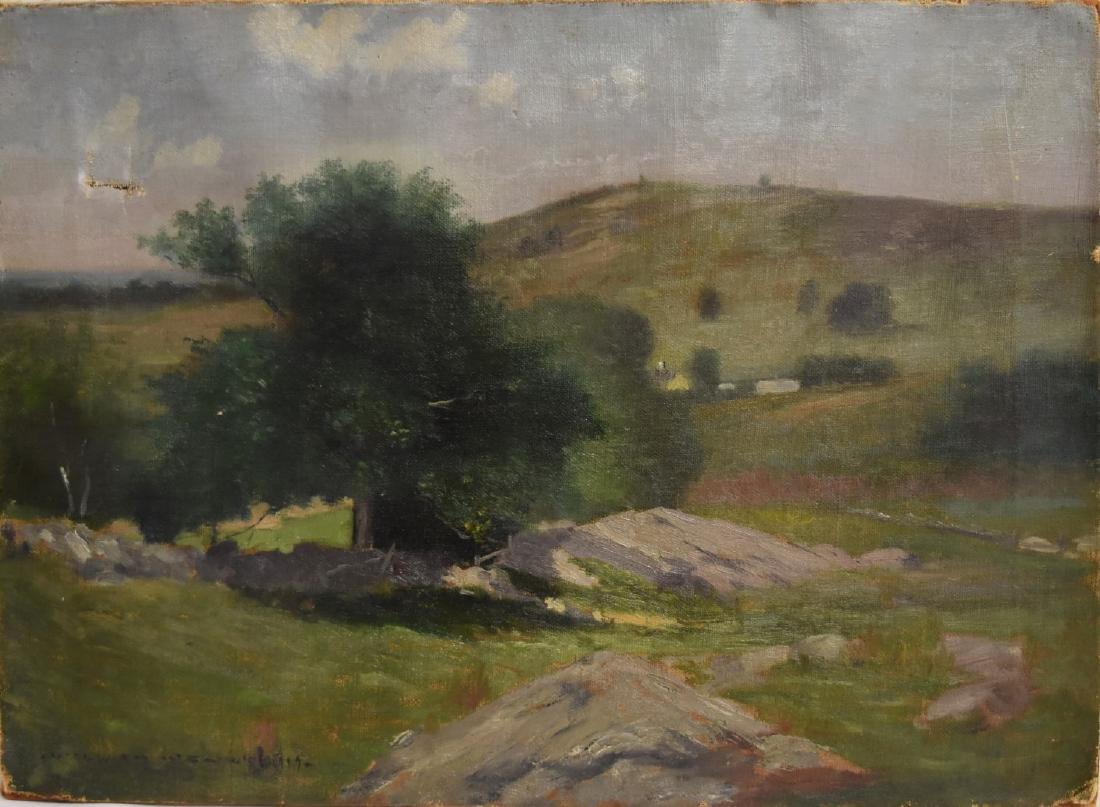 William Wendt; American Oil Landscape Signed