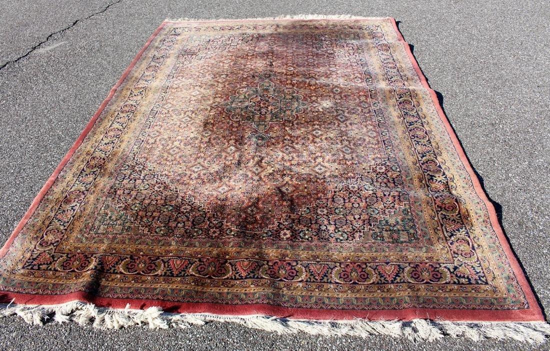 Kirman Room Size Wool Carpet 7 x 10