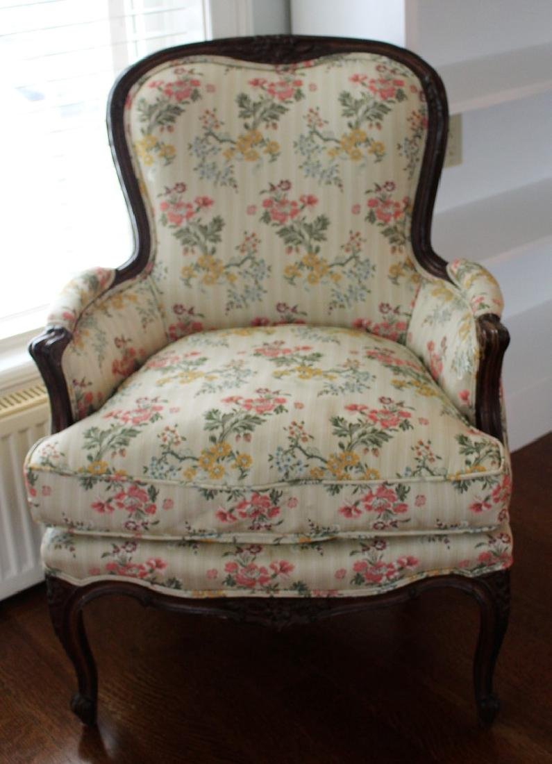 French Hip Rest Boudoir Chair