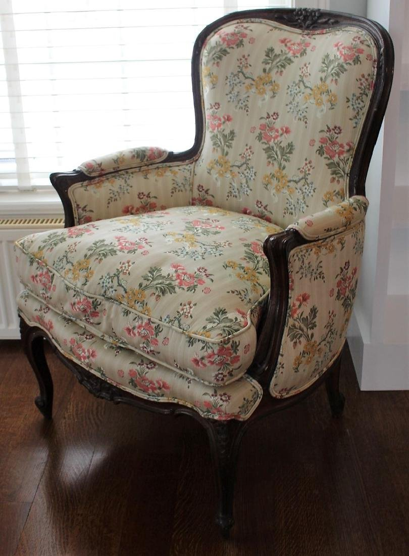 French Hip Rest Boudoir Chair - 2