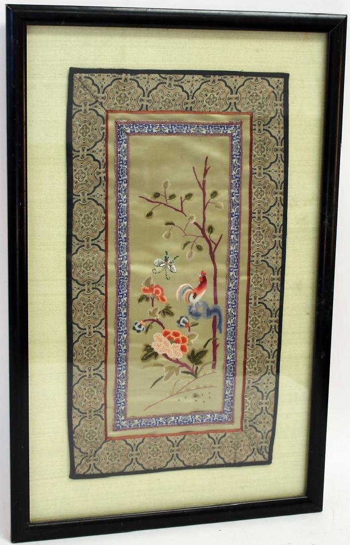 Framed Chinese Embroidery - 3