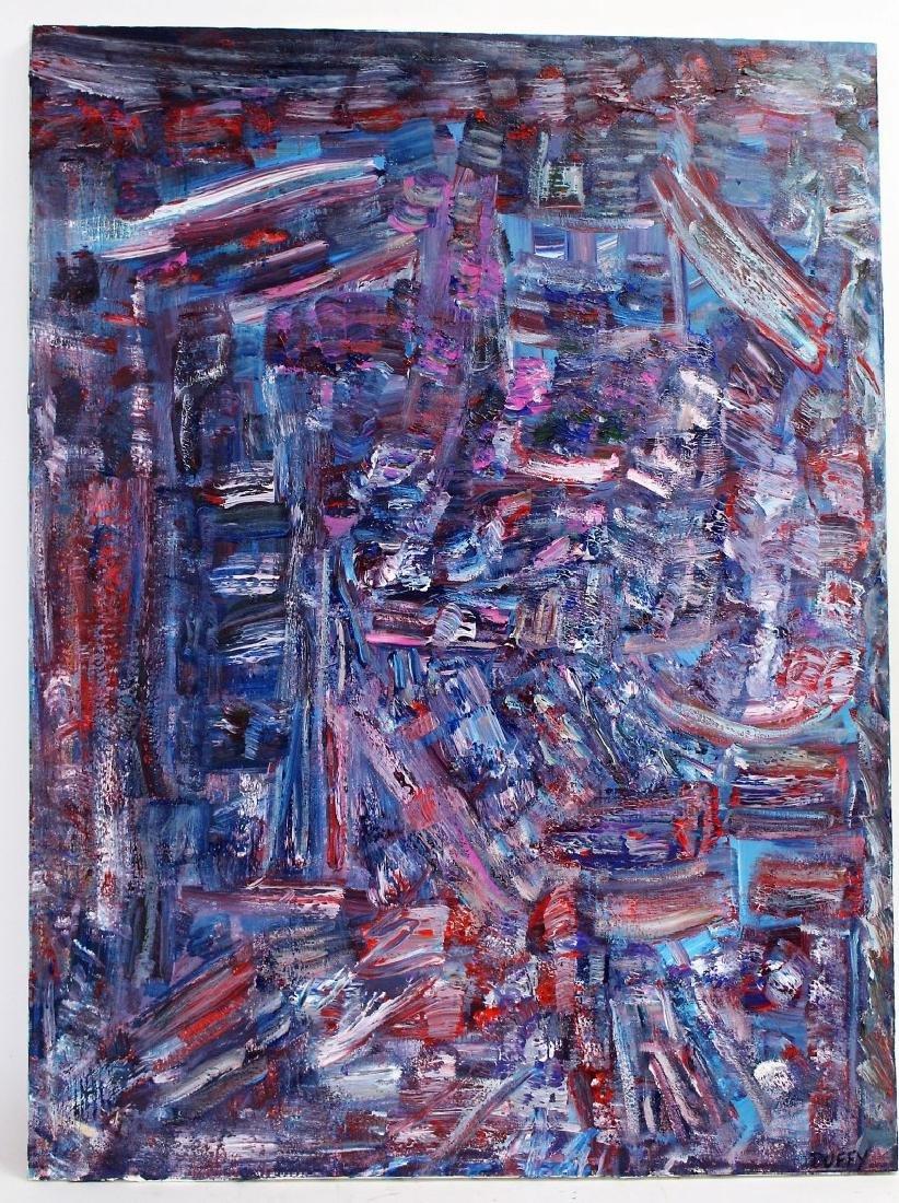 Thomas G. Duffy; 20thC. Modernist Oil Signed - 2