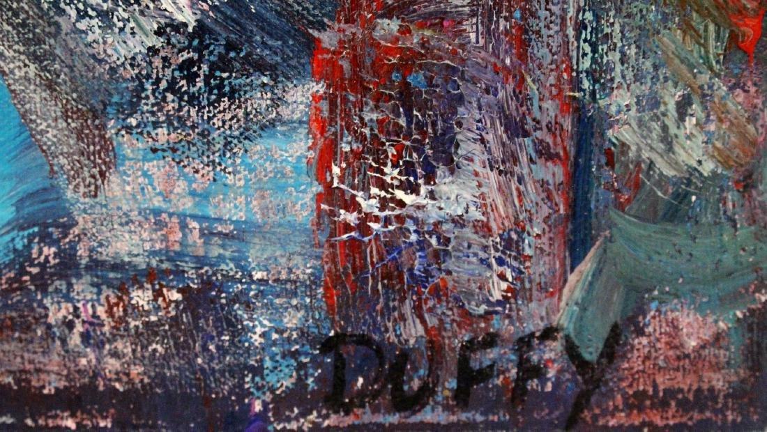 Thomas G. Duffy; 20thC. Modernist Oil Signed - 4