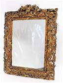 Rococco Revival Gilt Wood Mirror