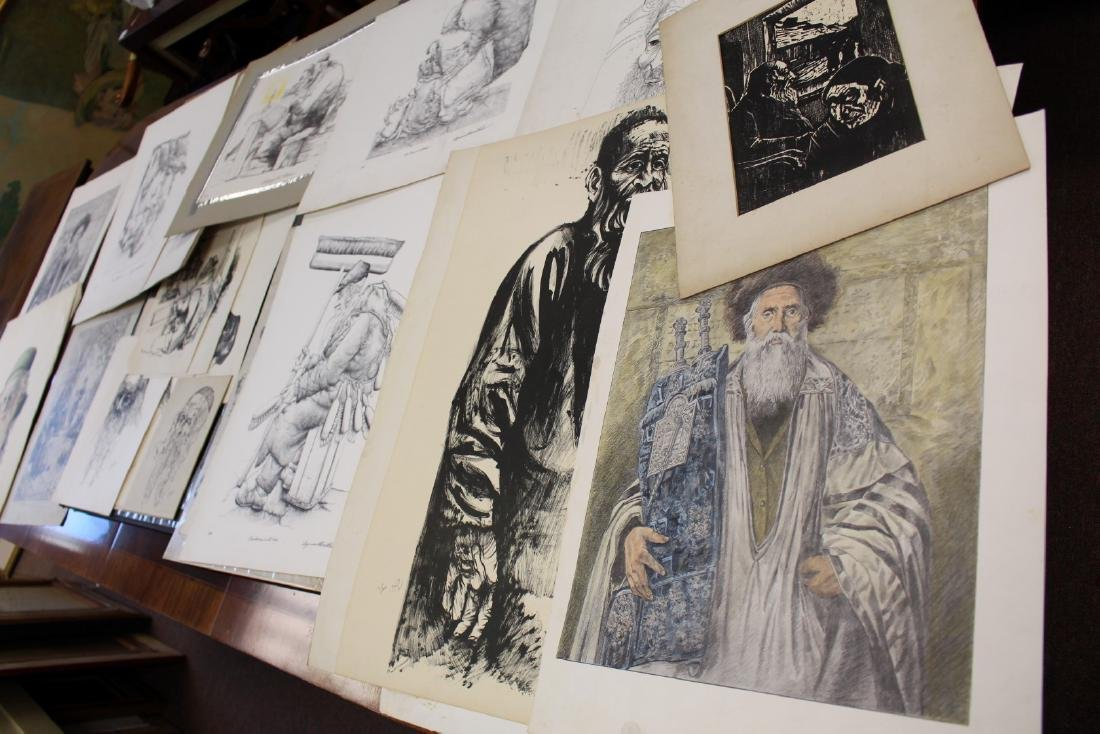 Lot of Miscellaneous Judaica Lithographs(25+)