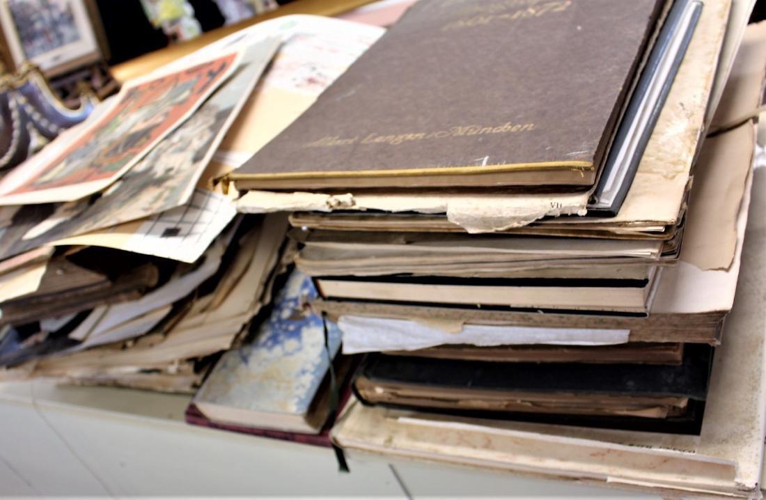 Lot of Miscellaneous Estate Books and Ephemera