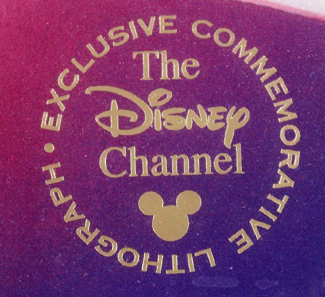 Disney Channel Commemorative Lithograph - 3