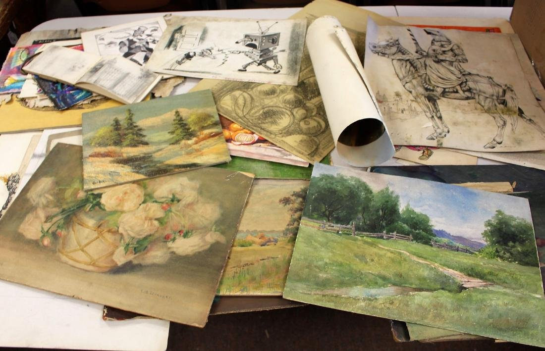 Lot of Miscellaneous Works of Art(30+)