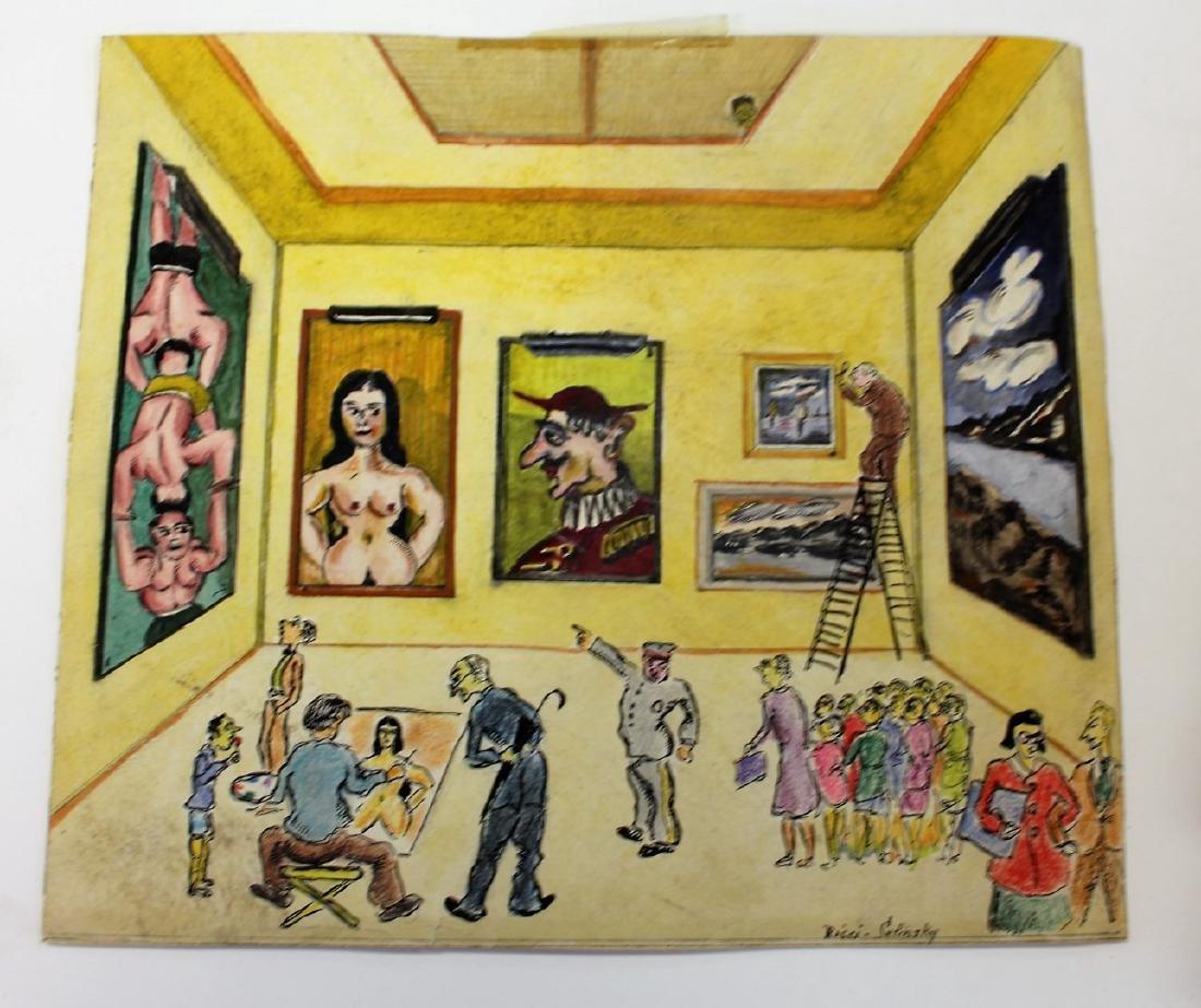 Aldo Ricci; Artist's Porfolio - 6