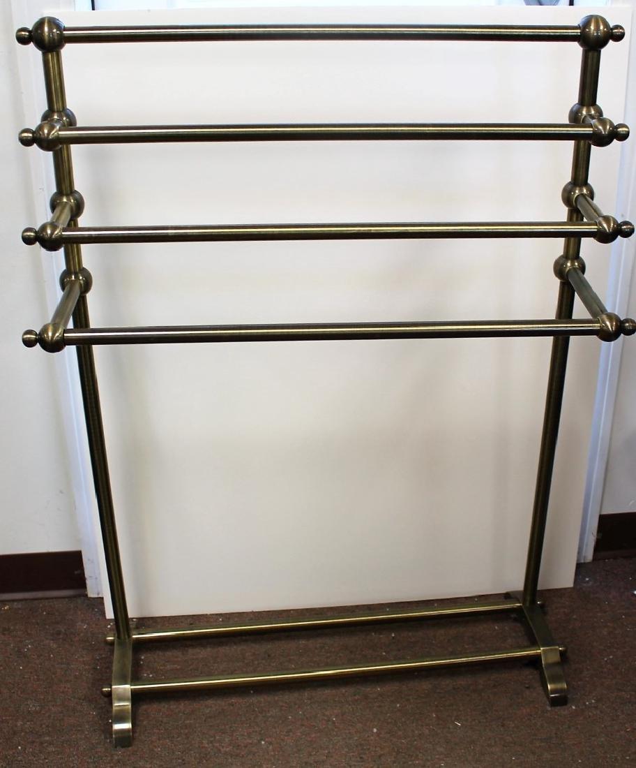 Brass Towel Rack - 2