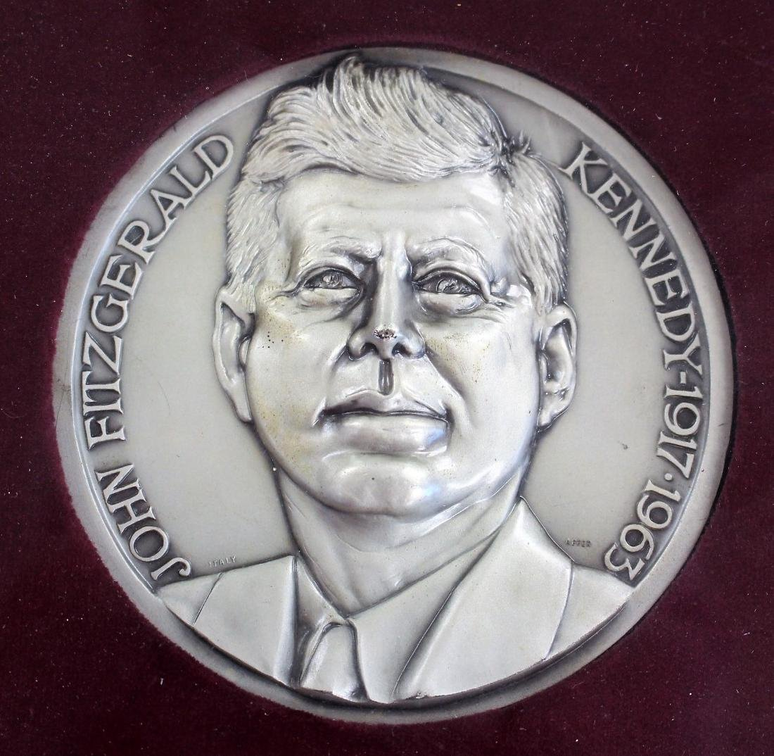 US Presidential JFK Commemorative Medallion