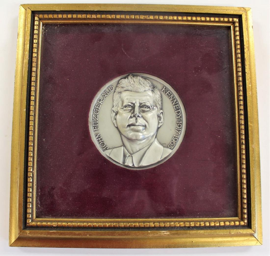 US Presidential JFK Commemorative Medallion - 2