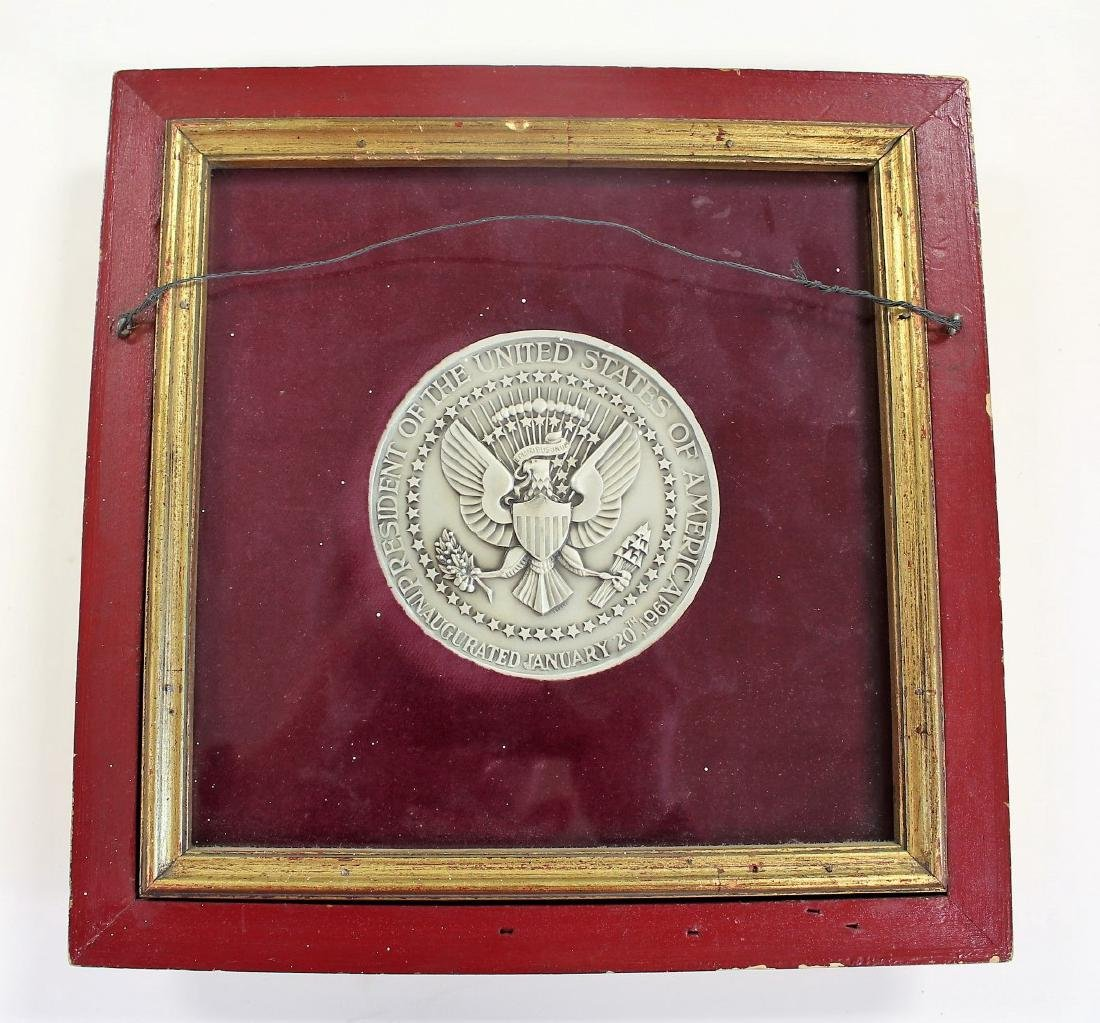 US Presidential JFK Commemorative Medallion - 4