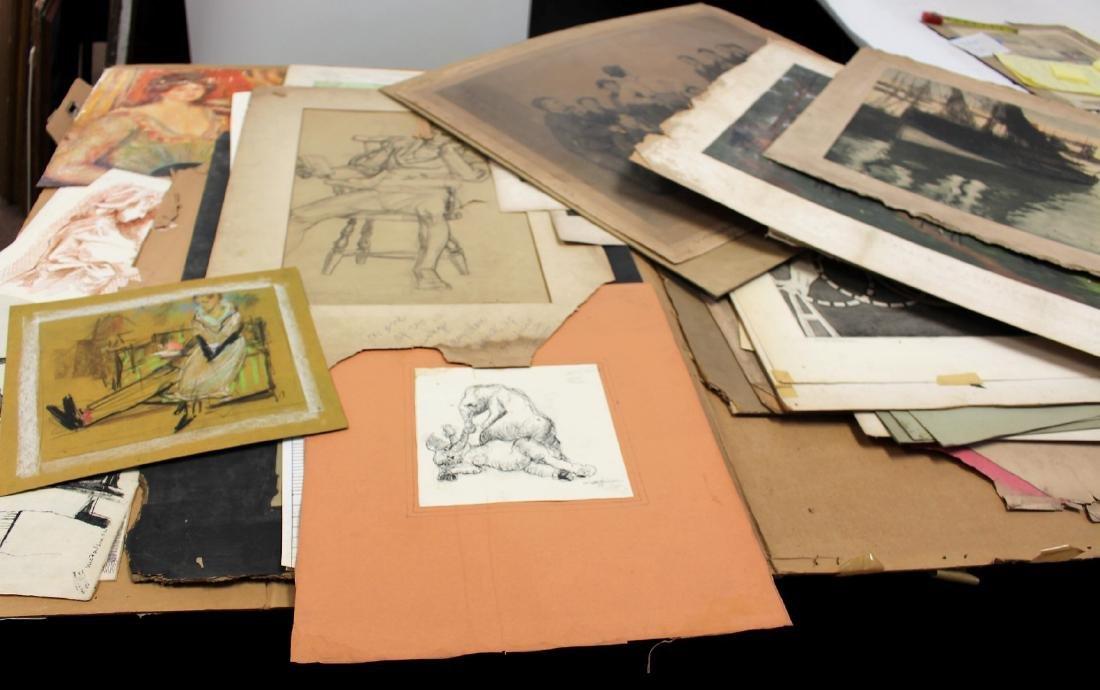 Portfolio of Miscellaneous Works of Art
