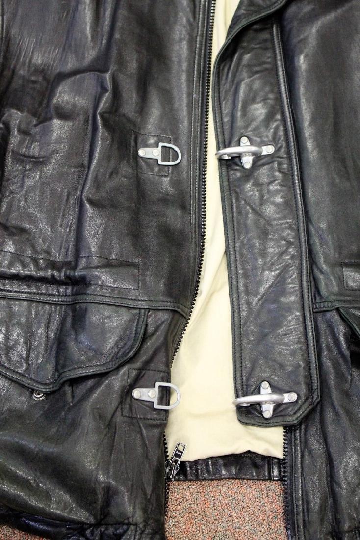 Vintage Men's Leather Jacket - 2