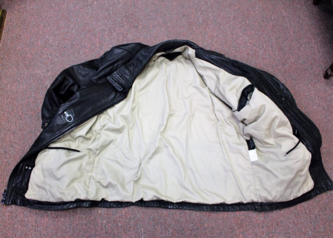 Vintage Men's Leather Jacket - 5