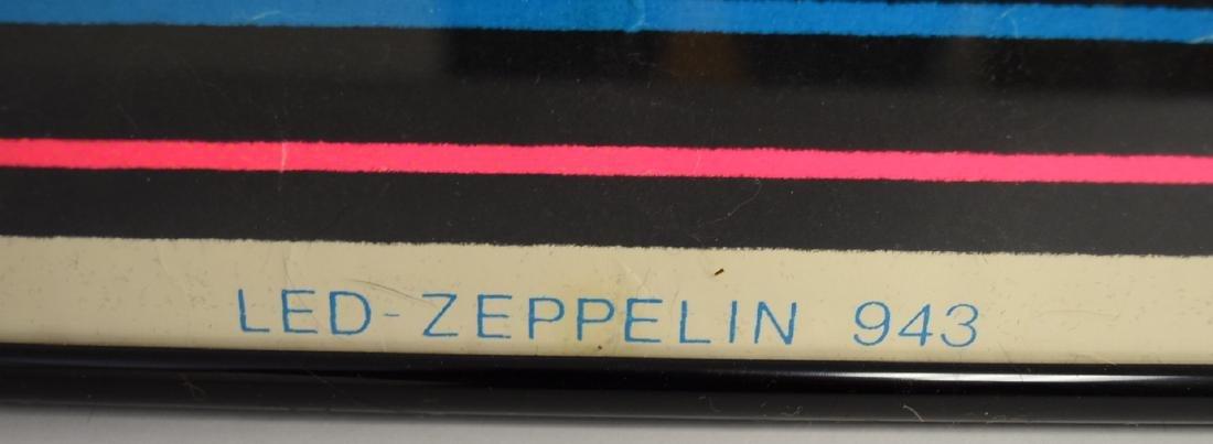 Vintage Led Zeppelin Blacklight Poster - 5