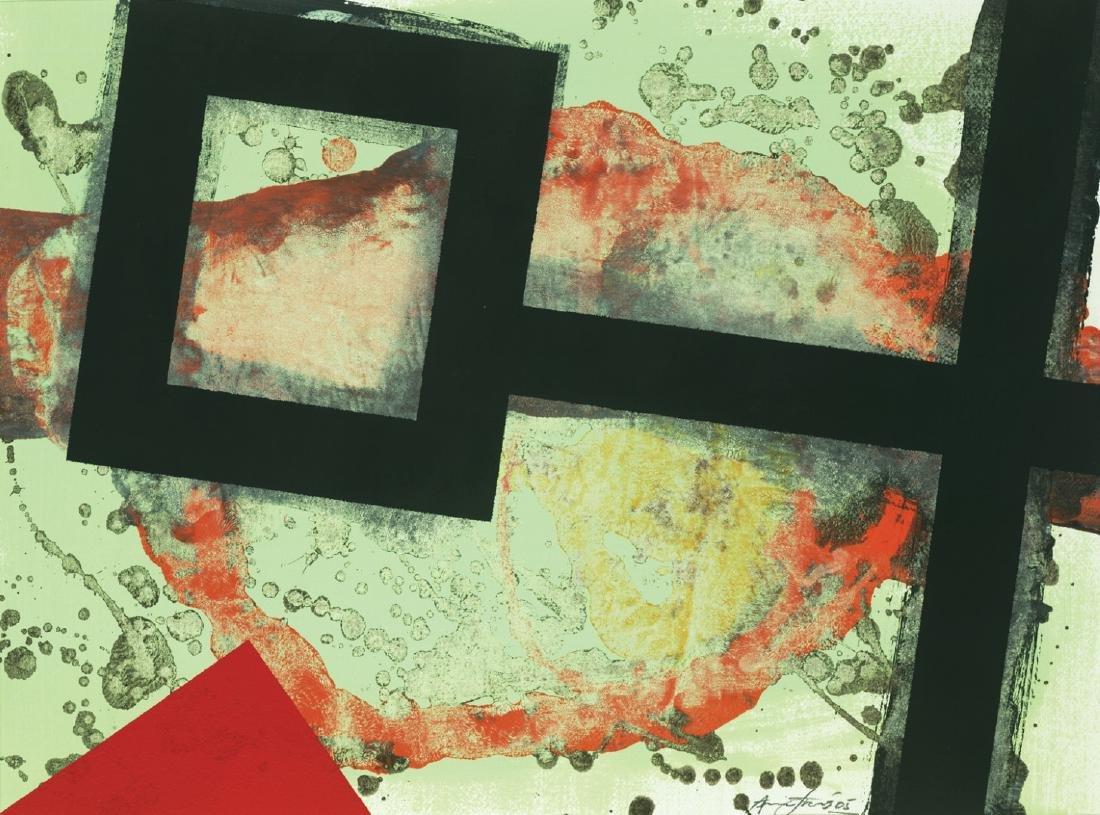 Aric Frons(Israeli/American) Modernist Mixed Media