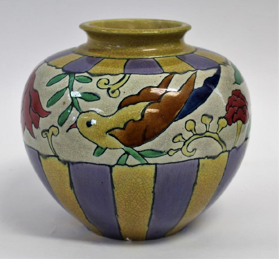 Arts & Crafts Art Pottery Vase