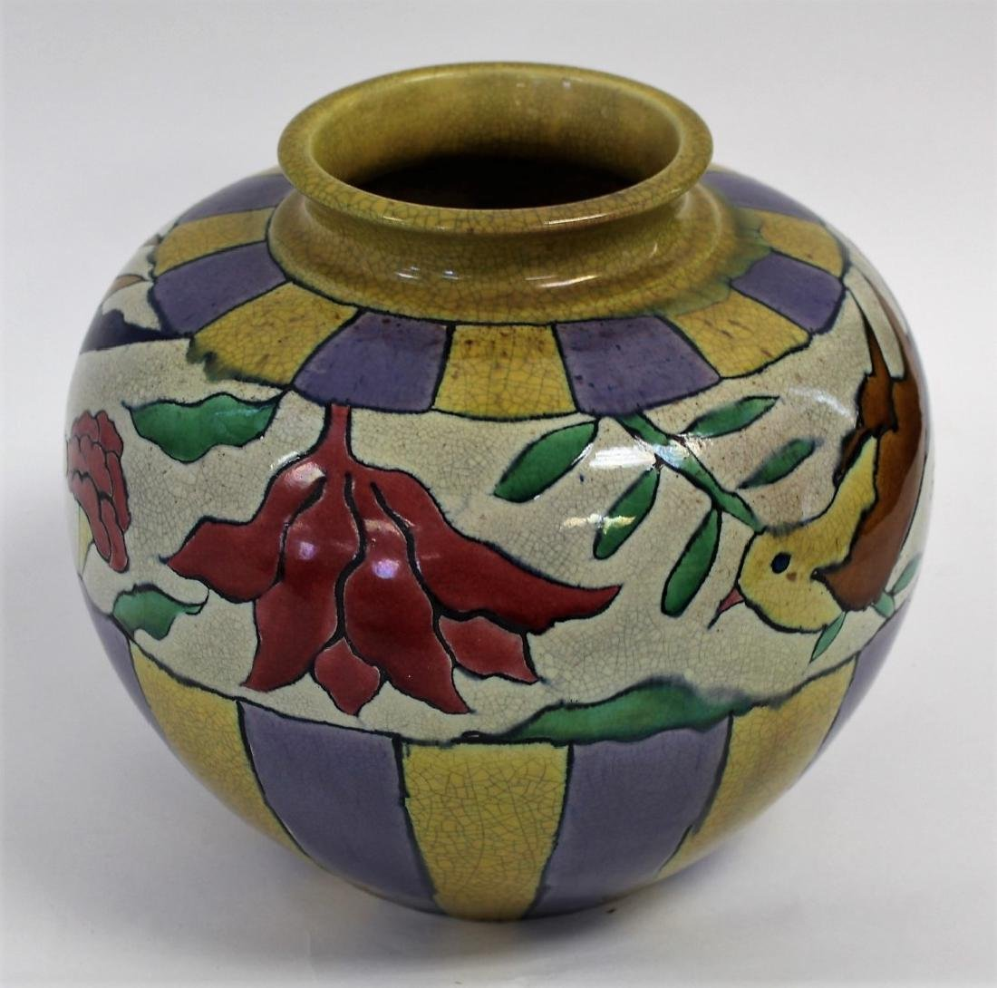 Arts & Crafts Art Pottery Vase - 3