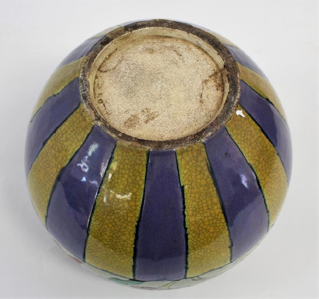 Arts & Crafts Art Pottery Vase - 4