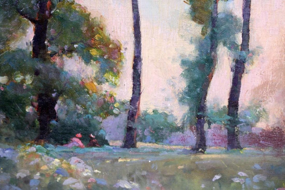 W. Dennis; American Oil Landscape Signed - 3