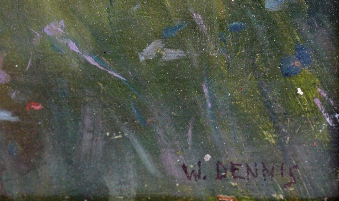 W. Dennis; American Oil Landscape Signed - 4