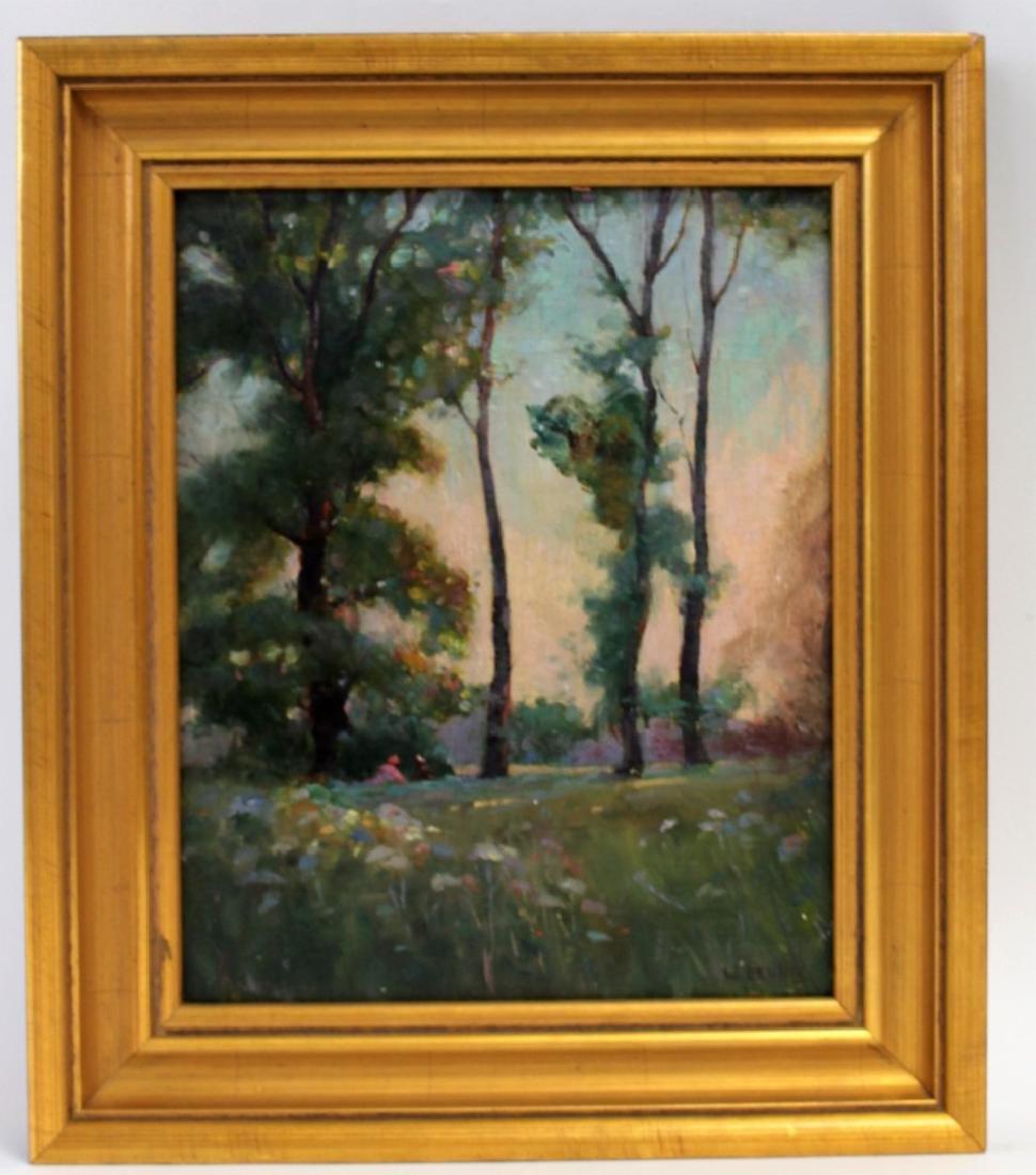W. Dennis; American Oil Landscape Signed - 5