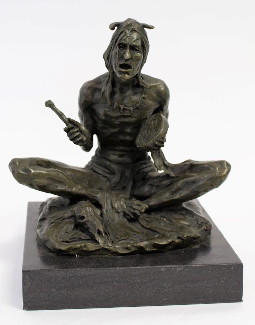 Rubin; 20thC. Western Bronze Signed