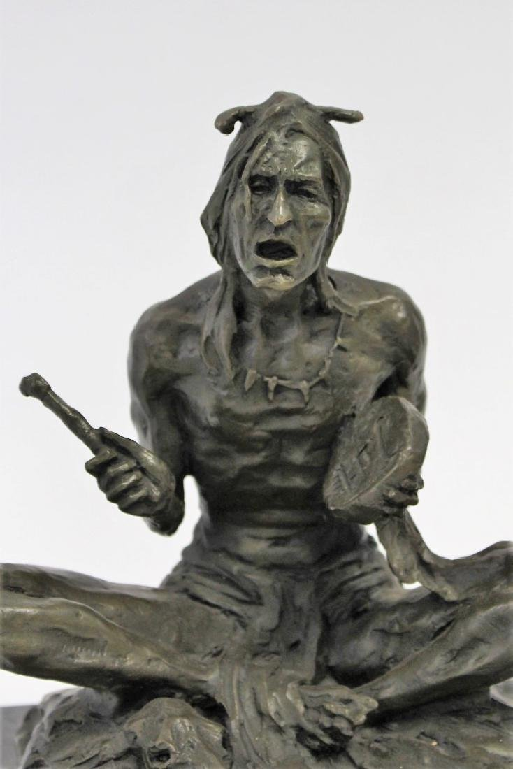 Rubin; 20thC. Western Bronze Signed - 2