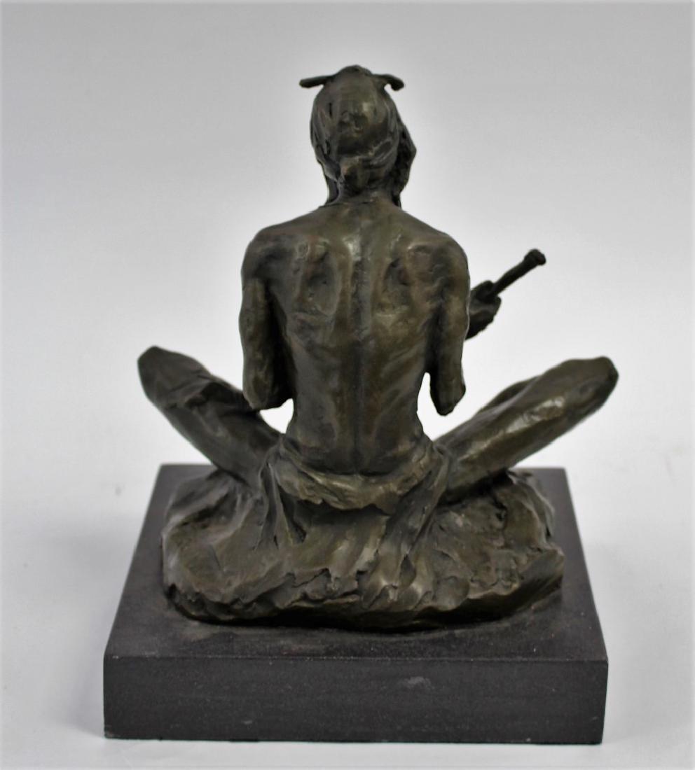 Rubin; 20thC. Western Bronze Signed - 5