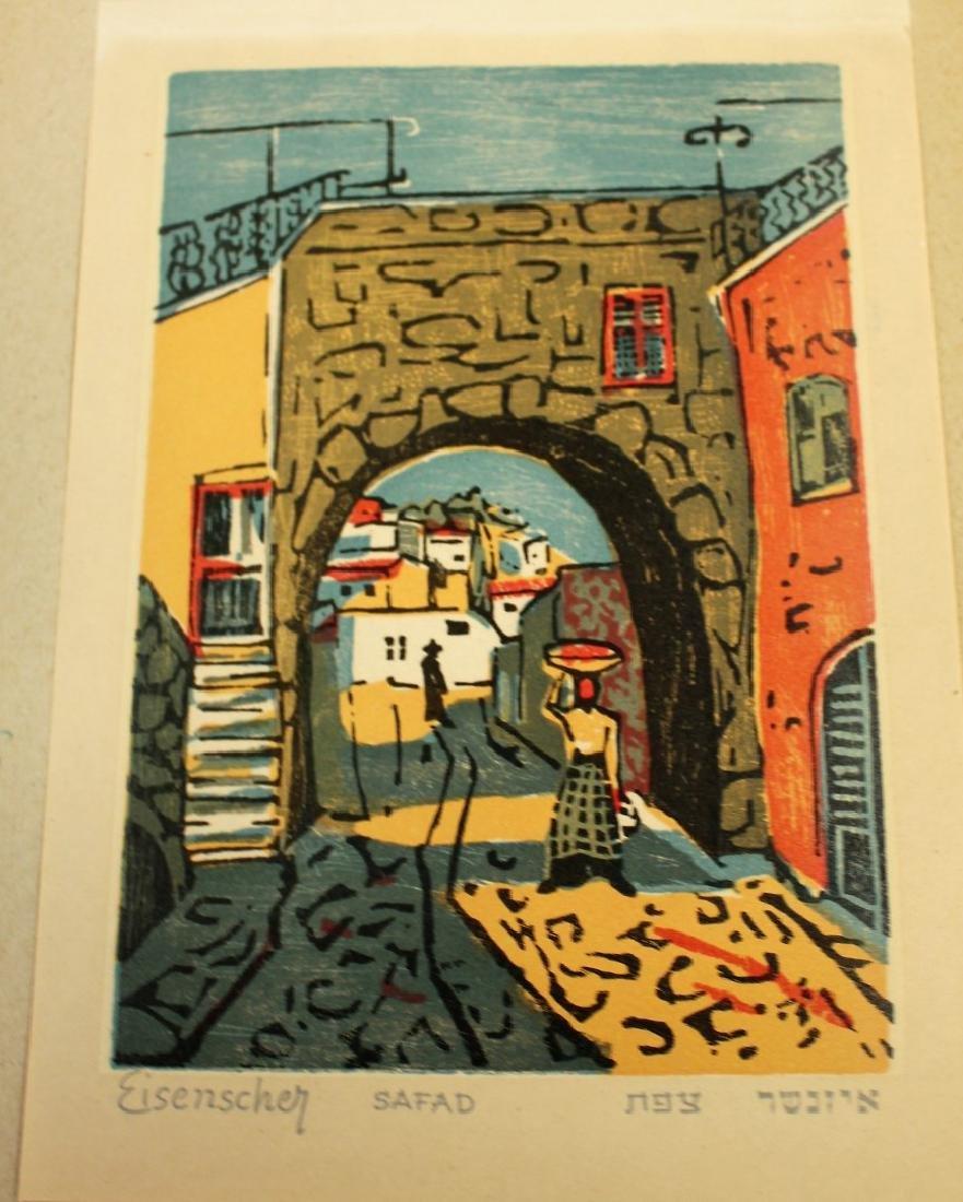 Jacob Eisenscher; Picturesque Israel Woodblock - 3