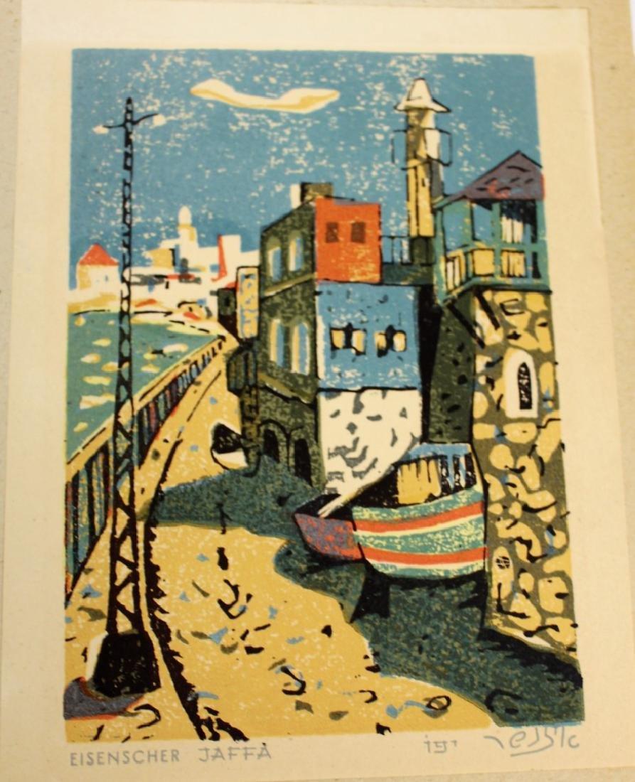 Jacob Eisenscher; Picturesque Israel Woodblock - 5