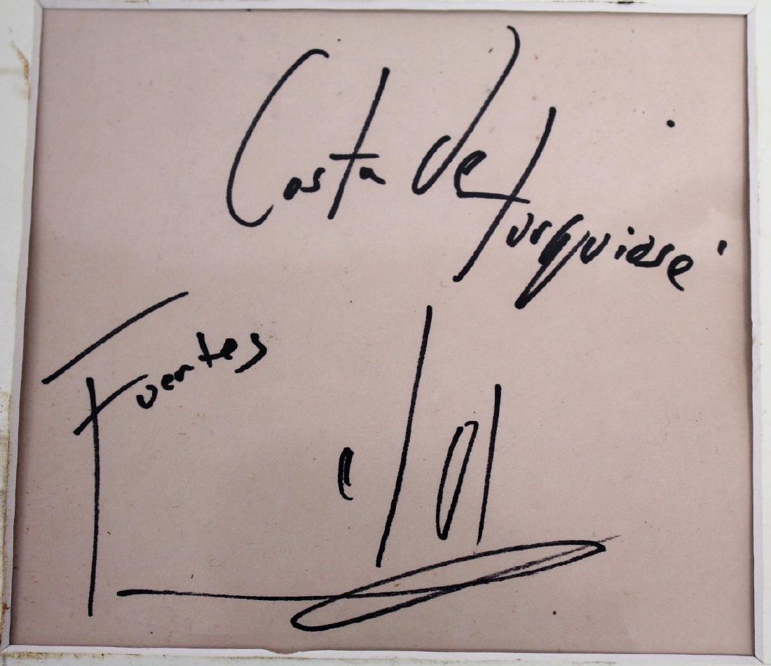 Jesus Fuertes; 20thC. Latin American Oil Signed - 4