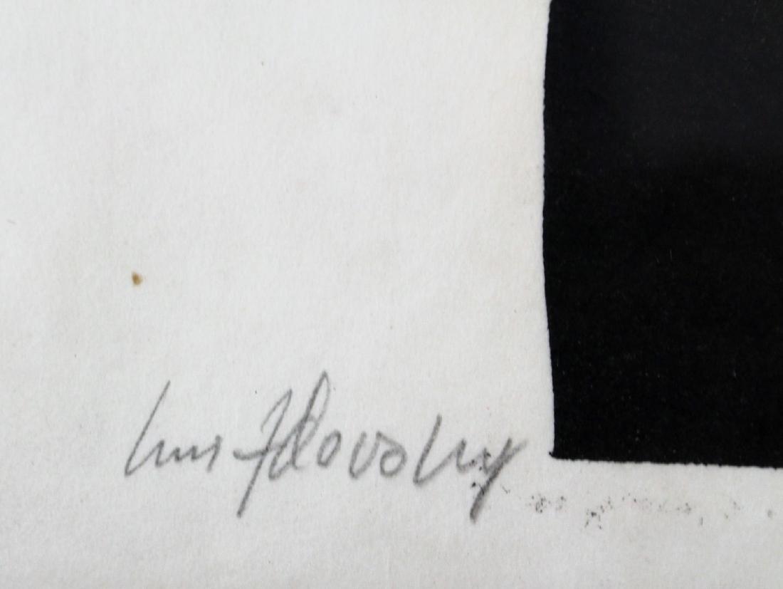 Jacques Hnizdovsky; 20thC. Woodcut Signed - 4