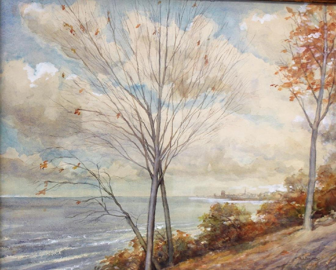 Hugh Bolton Jones; American Watercolor Landscape Signed