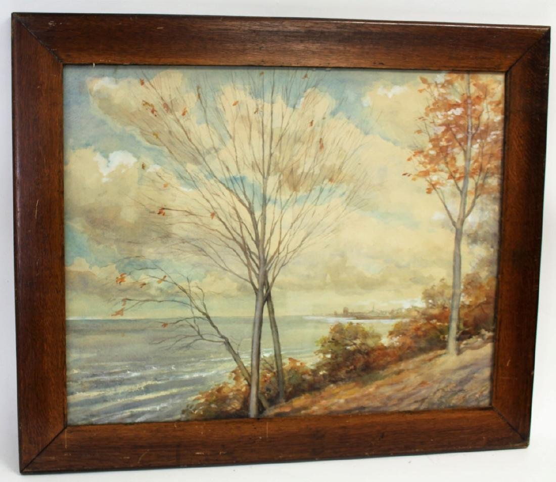 Hugh Bolton Jones; American Watercolor Landscape Signed - 3