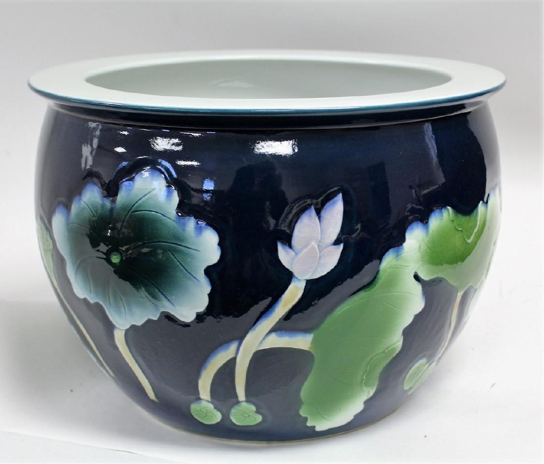 Chinese Enameled Porcelain Planter - 3
