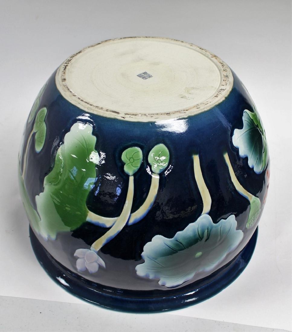 Chinese Enameled Porcelain Planter - 4